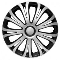 Колпаки Avera silver-black R15 (Комплект 4 шт.) 4Racing