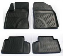 L.Locker Глубокие резиновые коврики в салон Toyota Avensis (09-)