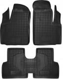 Резиновые коврики FIAT Doblo 2001-2015 Avto Gumm