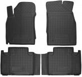 Резиновые коврики GEELY Emgrand X7 2013- AvtoGumm