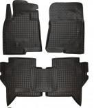 Резиновые коврики MITSUBISHI Pajero Wagon 2007- Avto Gumm