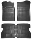 Резиновые коврики RENAULT Kangoo 1997-2008 4-ри двери Avto Gumm
