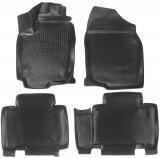 L.Locker Глубокие резиновые коврики в салон Toyota RAV4 2012-2015-