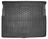 Резиновый коврик в багажник Citroen C-4 Picasso 2013- Avto Gumm