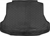 Резиновый коврик в багажник HONDA Civic 2005- sedan Avto Gumm