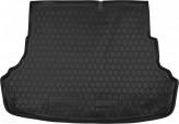 Резиновый коврик в багажник HYUNDAI Accent 2010-2017 sedan Avto Gumm