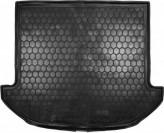 Резиновый коврик в багажник HYUNDAI Santa-Fe короткая база 2012- (7 мест) Avto Gumm