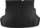 Резиновый коврик в багажник Kia Rio 2011- sedan Avto Gumm