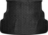 Резиновый коврик в багажник Kia Rio 2015- sedan Avto Gumm