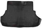 Резиновый коврик в багажник MITSUBISHI Lancer X 2007- sedan Avto Gumm