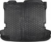 Резиновый коврик в багажник MITSUBISHI Pajero Wagon 2000-2007- (5-7 мест) Avto Gumm