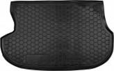 Резиновый коврик в багажник MITSUBISHI Outlander 2003- Avto Gumm