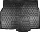 Резиновый коврик в багажник OPEL Astra H (хетчбэк) Avto Gumm