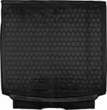 Резиновый коврик в багажник OPEL Astra H (универсал) Avto Gumm