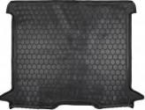 Резиновый коврик в багажник RENAULT Dokker 2013- Avto Gumm