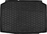 Резиновый коврик в багажник SKODA Fabia I 1997-2007 (хетчбэк) Avto Gumm