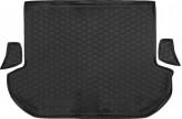 Резиновый коврик в багажник SUBARU Outback 2009-2015 Avto Gumm