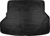 Резиновый коврик в багажник TOYOTA Highlander 2007- (7 мест) Avto Gumm
