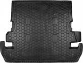 Резиновый коврик в багажник TOYOTA Land Cruiser 200 (7 мест) Avto Gumm