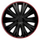 Колпаки Giga R black R15 (комплект 4шт.)