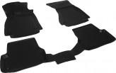 Глубокие резиновые коврики в салон Audi A6 (C7) 2011-2014