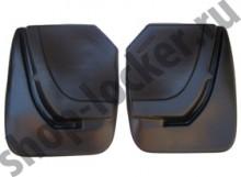L.Locker Брызговики задние MG 3 Cross hatchback 2013-