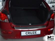 Nataniko Накладка на бампер с загибом Chevrolet Cruze HB FL 2013-
