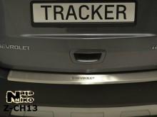 Nataniko Накладка на бампер с загибом Chevrolet Tracker 2013-