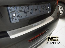 Nataniko Накладка на бампер с загибом PEUGEOT 208