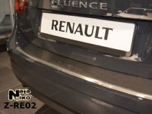 Nataniko Накладка на бампер с загибом RENAULT FLUENCE