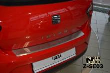 Накладка на бампер с загибом SEAT IBIZA IV 3D FL 2012- Nataniko