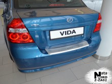 Nataniko Накладка на бампер с загибом ZAZ Vida Sedan