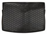 Резиновый коврик в багажник VW Golf 7 HB Avto Gumm