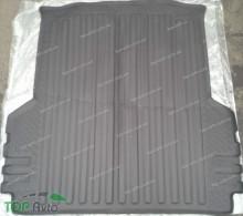 Резиновый коврик в багажник Mitsubishi L200 2014- (длинная база) Unidec