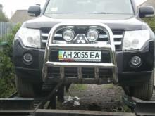 UA Tuning Защита передняя MITSUBISHI Pajero Wagon 2007- (кенгурятник d 60)