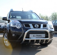 UA Tuning Защита передняя Nissan X-Trail (T31) 2007-2014 (кенгурятник d 60)