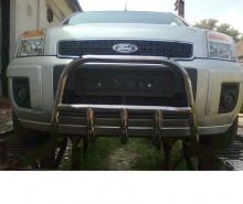 Защита передняя  Ford Fusion (кенгурятник d 42) UA Tuning