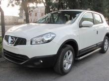 UA Tuning Пороги Nissan Qashqai 2006-2014 (алюминиевый профиль)