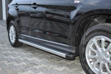UA Tuning Пороги Toyota Highlander 2007-2013 (алюминиевый профиль)