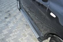 Пороги SsangYong Rexton 2012- (алюминиевый профиль)