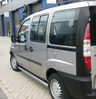 Пороги Fiat Doblo 2001- (труба d 70)