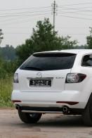 Защита задняя Mazda CX-7 (труба одинарная d 60)