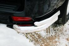 UA Tuning Защита задняя Toyota Land Cruiser Prado 150 2009-2013- (уголки двойные d 60/42)