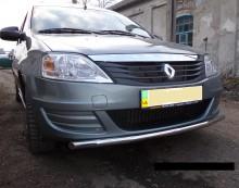 UA Tuning Защита передняя Renault Logan MCV 2004-2013 (труба одинарная d 42)
