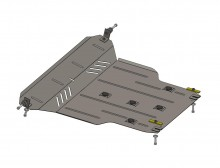 Кольчуга Защита двигателя, коробки передач, радиатора Chery Tiggo 2011-
