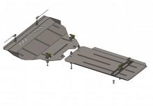 Кольчуга Защита двигателя, коробки передач, радиатора Infiniti QX 70