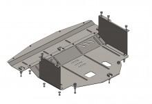 Кольчуга Защита двигателя, коробки передач, радиатора Kia Carens 2013-