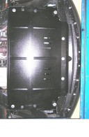 Защита двигателя, коробки передач, радиатора Mazda CX-9