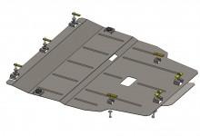 Кольчуга Защита двигателя, коробки передач, радиатора Mercedes А-Class (W176) 2013-