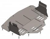 Защита двигателя, коробки передач, радиатора Renault Master 2011-